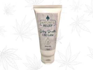 Silky Smooth CBD Lube | Nature's Relief